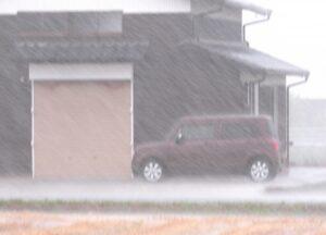 大雨のホームインスペクション